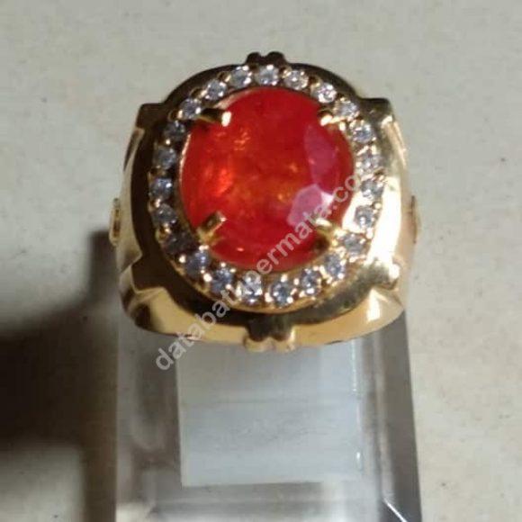 Orange Safir Paparaca