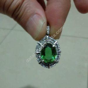 Liontin Wanita Batu Zultanite Ring Perak 925
